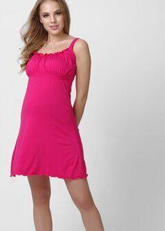38202f63d181 Сорочка для беременных и кормящих 101971 фуксия