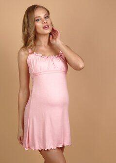 988a43a05b3a Сорочка для беременных и кормящих 101726 персик